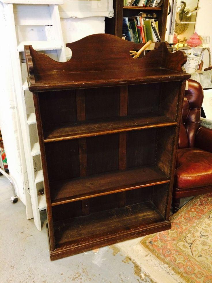 Lovely Antique Mahogany Bookcase   eBay