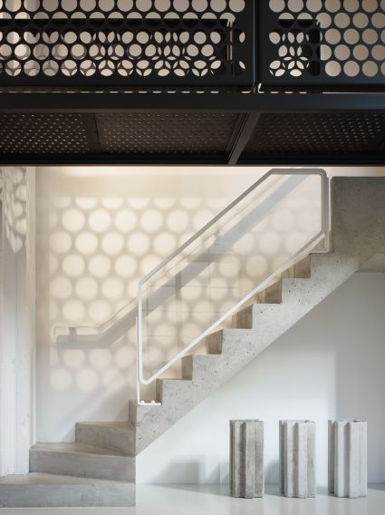 Best Maisonette Staircase Studio Gang Gorgeous Concrete Stairs Staircase Design Concrete 400 x 300