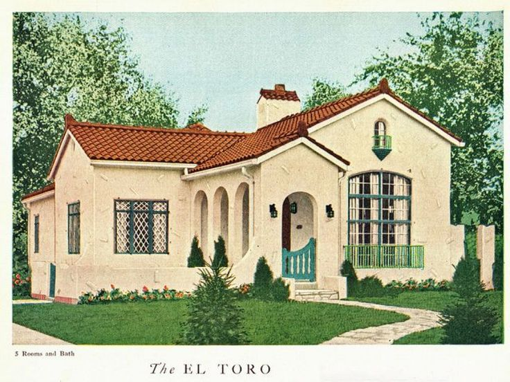 Spanish Style Bungalow Google Search Dream Home Pinterest