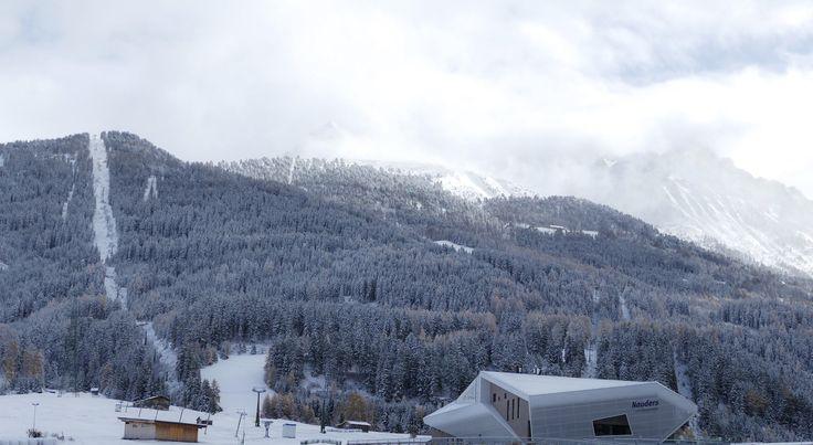 Bergbahn Bergkastel in Nauders am Reschenpass, Wintereinblicke