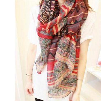2015 yeni moda trendy bohemian kadın uzun baskı eşarp wrap bayanlar şal kız büyük pretty eşarp tole 6 stilleri cai0624