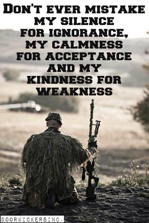 As a former Sniper I Agree