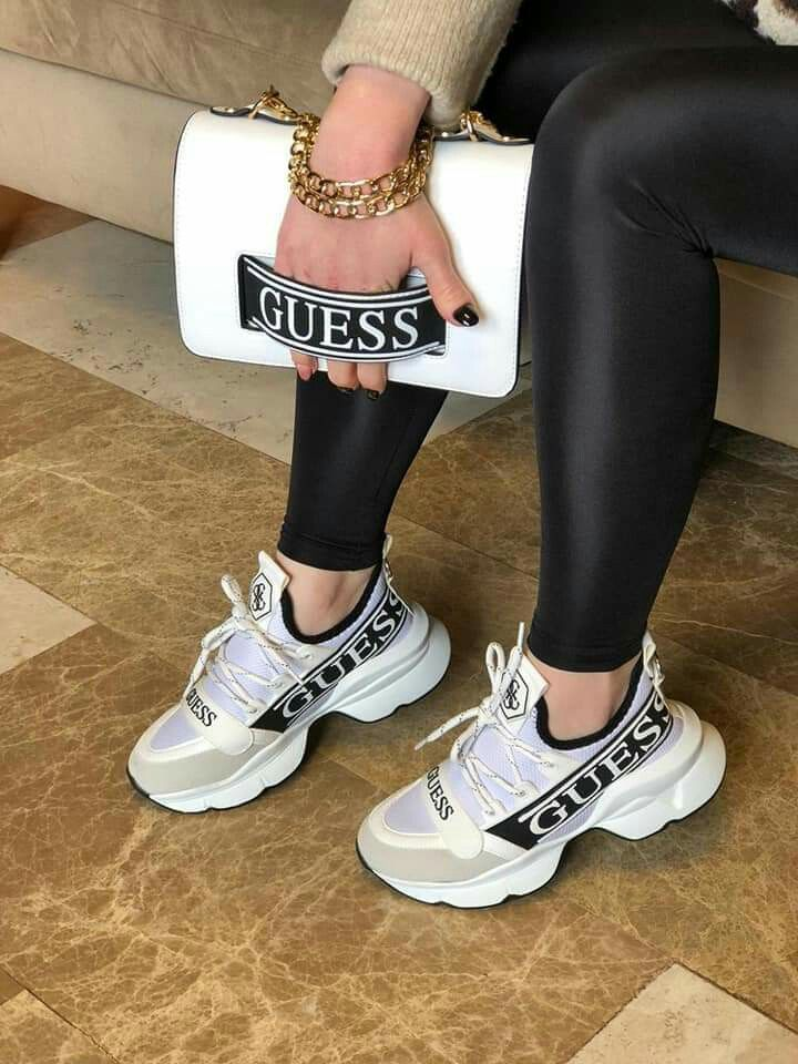 Guess Set Gym Shoes Sneakers Shoes