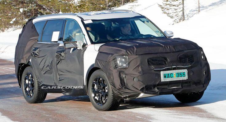 Scoop: Full-Size Kia SUV Coming With Telluride Concept Looks #news #Kia