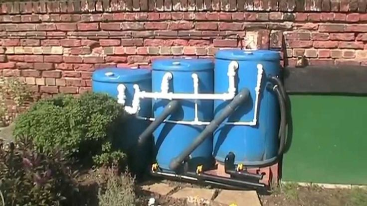 Brand New DIY Pond Filter System That's So Easy to Clean. 2014