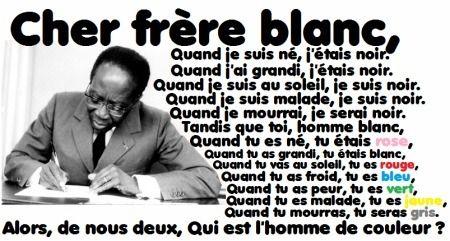 Un poème de Léopold Sedar Senghor. Poète et écrivain, Senghor a été le premier président de la République du Sénégal (1960-1980) et premier Africain à siéger à l'Académie française.