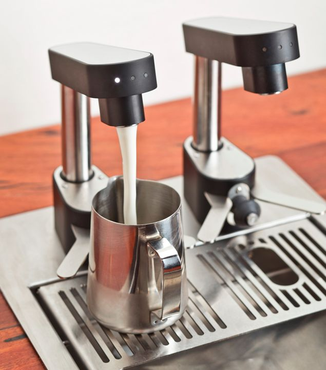 The Juggler Milk Tap System. My favourite innovation in the barista world.