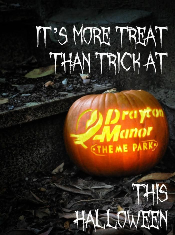 It's more Treat than Trick at Drayton Manor Park this Halloween
