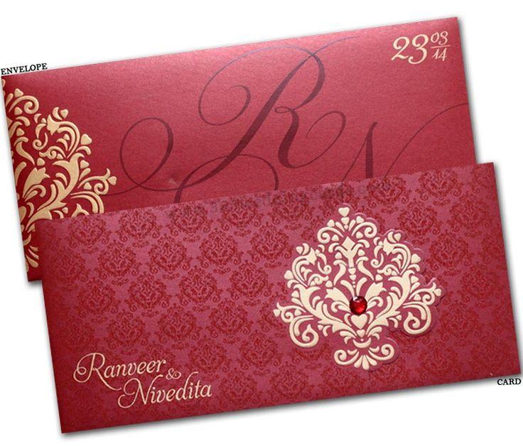Best Wedding Cards Images On   Indian Bridal Indian