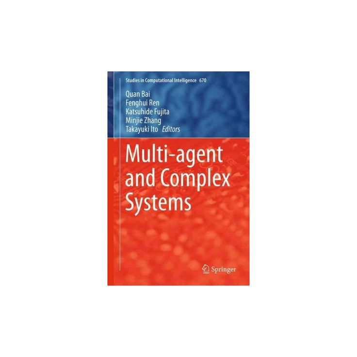 Multi-agent and Complex Systems (Hardcover)