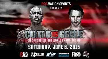The World News sports update: Miguel Cotto vs Daniel Geale Live Online on 06-06-...