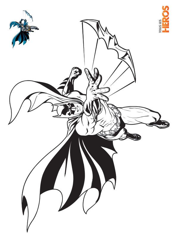 1000 images about coloriages de tlh on pinterest batman vs superman princess disney and heroes - Coloriage batman ...