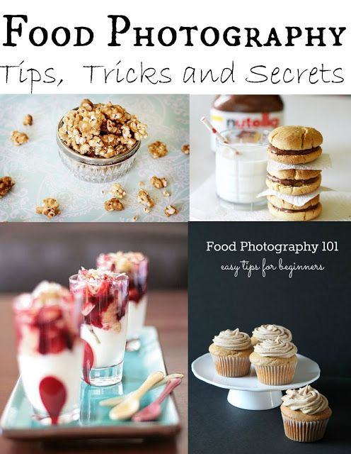 Food Photography Tips & Tricks - A collection of links to different sites with helpful food photography hints.