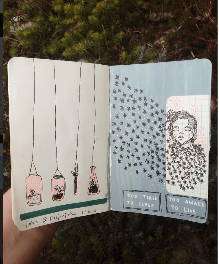 // sketchbook // ((theherione)) fireflyfiphie #art #journal #sketchbook
