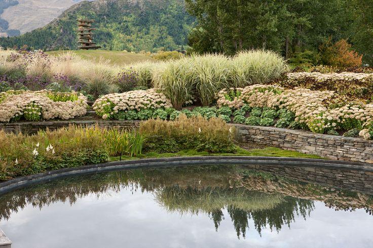 suzanne turley landscape design / hill garden, queenstown nz
