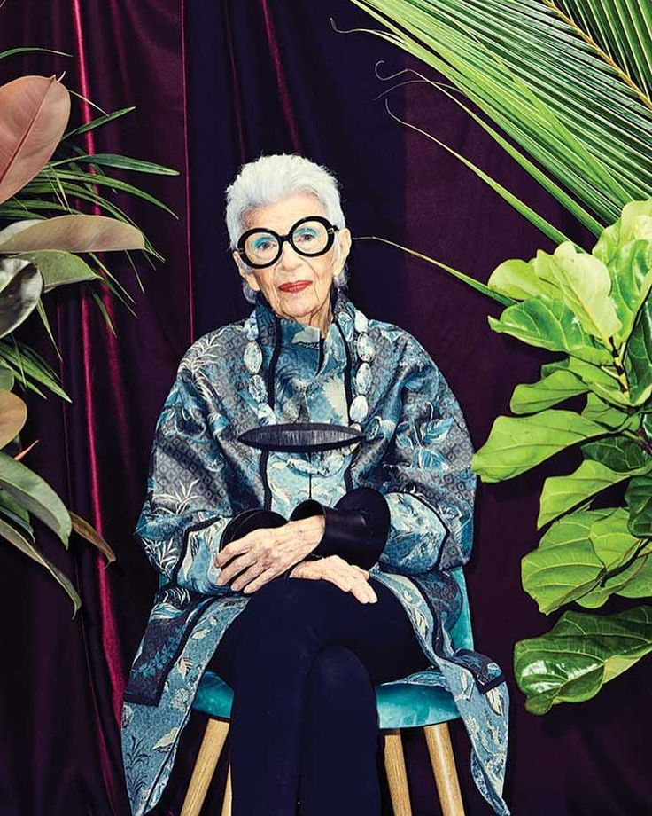 """22.1k Likes, 160 Comments - Iris Apfel Official (@iris.apfel) on Instagram: """"You can read the @footwearnews cover story clicking on the link in my bio. Photo credit:…"""""""
