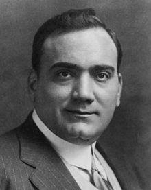 Enrico Caruso, the legend tenor and a theme for a wellknown song by Lucio Dalla.