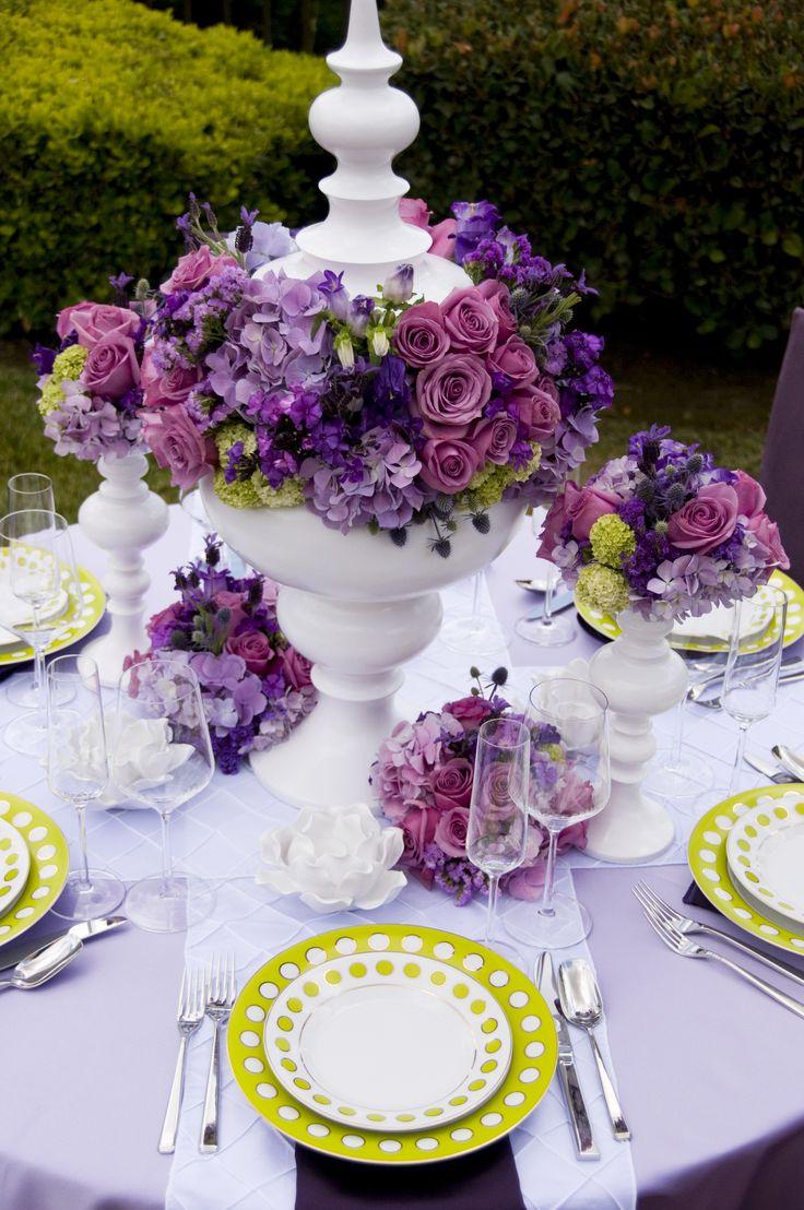 Best ideas about purple table settings on pinterest