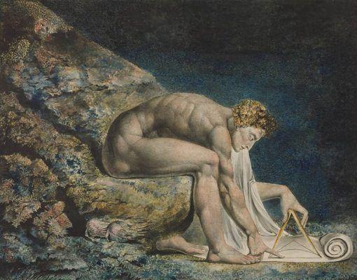 Newton, par William Blake