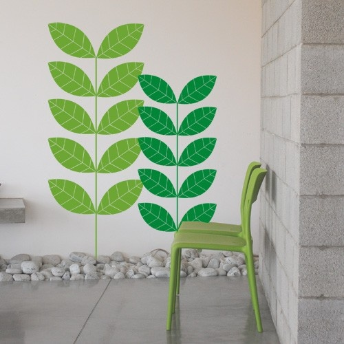 CoolWallArt.com: Green Nature Wall Decal, $85.95 Part 48