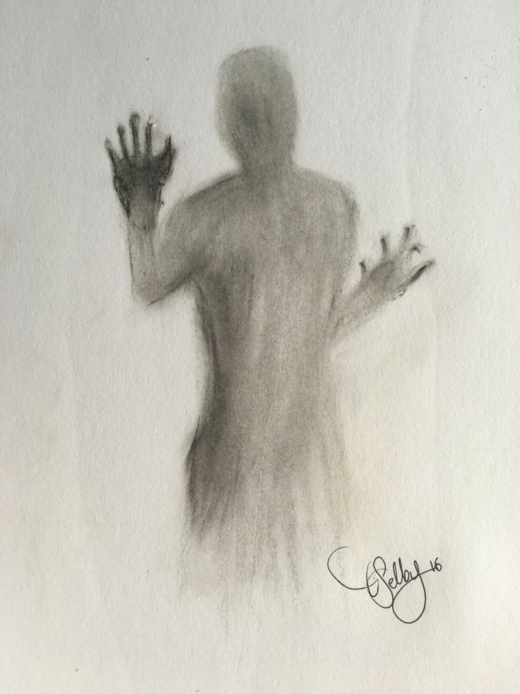 faceless; part five - oil pastels