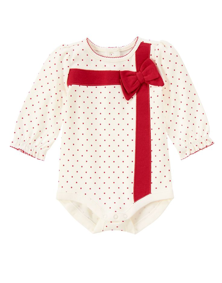 Gift Ribbon Bodysuit at Gymboree | Because she's the best gift ever!