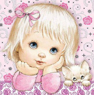 avatar nena y gatito