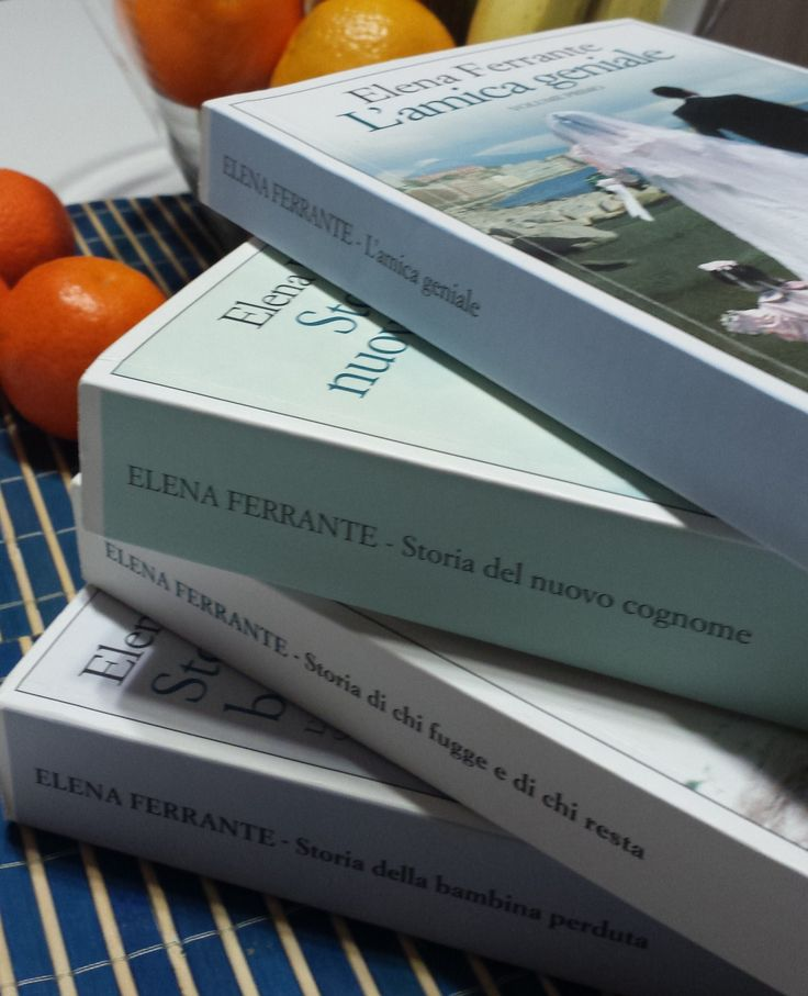quadrilogia di elena ferrante che mi ha rubato tempo per libri migliori... :(
