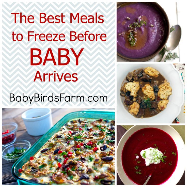 The Best Meals to Freeze Before Baby Arrives -- don't just survive, dine in style!  #Recipes #FreezerMeals #BabyPrep