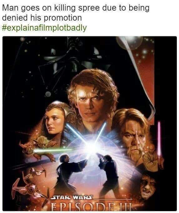 Pin By Kaileigh On Don T Underestimate The Force Star Wars Episodes Star Wars Movies Posters Star War Episode 3