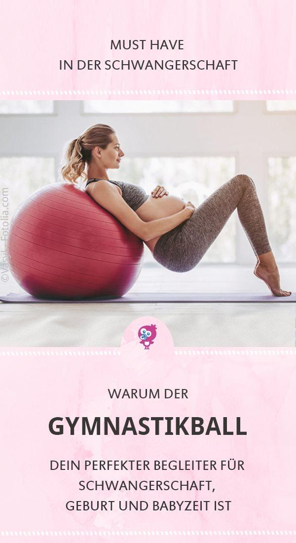 Gymnastikball für Schwangerschaft und Geburt – Antonia