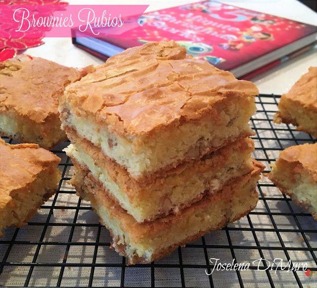 Mamás Latinas en USA // Cocinar,comer y compartir: Brownies Rubios