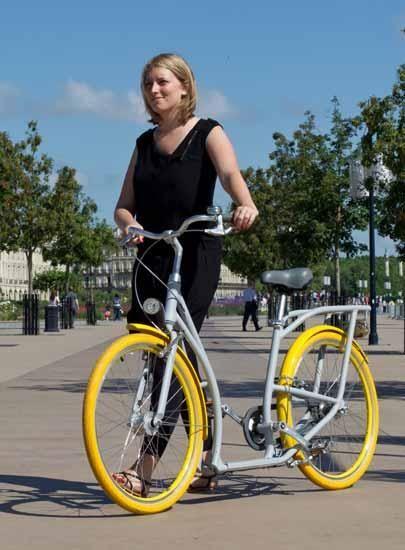 Emprunter un vélo ville de Bordeaux (VVB)