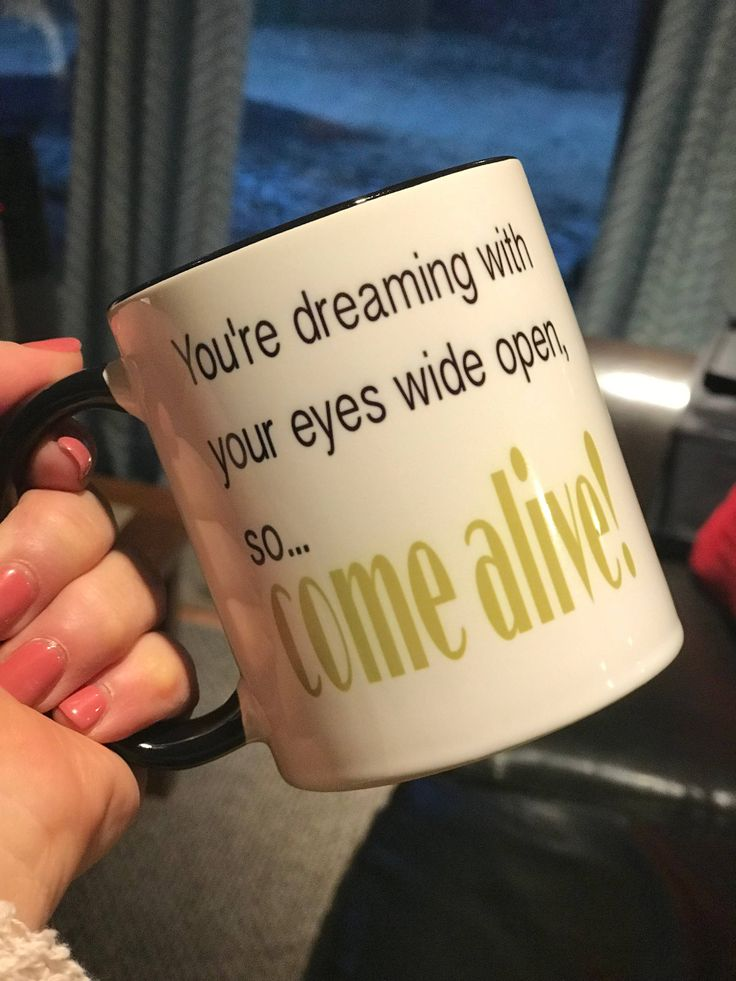 The Greatest Showman gift coffee mug cup, You're dreaming with your eyes wide open so Come Alive! coffee mug gift, Greatest showman movie by ArtsyWallsAndMore on Etsy
