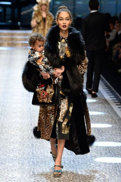 Family Affairs ::Marjorie Harvey, Jason Harvey, and Amanda Harvey Walk in Dolce & Gabbana's Fall 2017 Show – 8020Fashions Blog