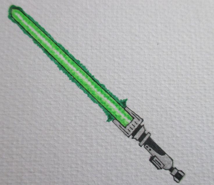 Custom Drawn Lightsaber