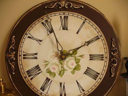Часы для дома ручной работы. Ярмарка Мастеров - ручная работа. Купить Часы  Настенные  Мечта(Роспись). Handmade. Часы, винтаж