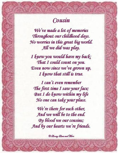 happy birthday poems for cousin sister 6