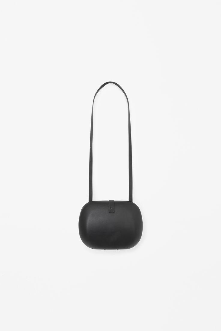 COS | Hard case leather bag