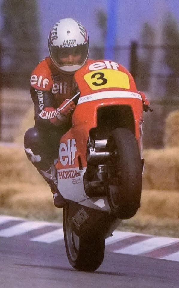 Didier de Radrigues Honda 500 Elf, 1985
