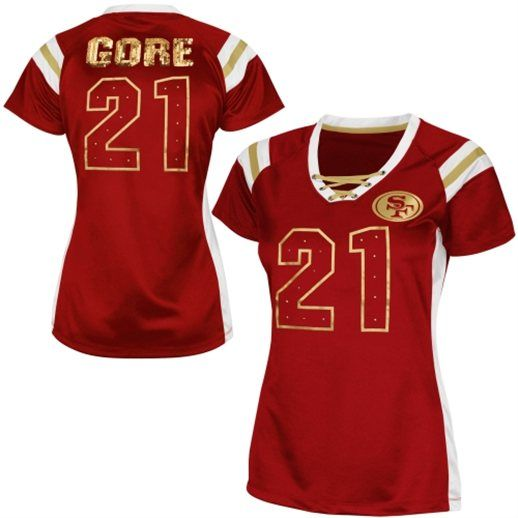 ... coupon code for game jersey home 9 san francisco 49ers frank gore san  francisco 49ers womens 904fb1841