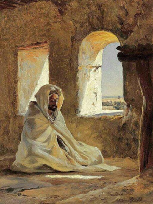 Peinture d 39 alg rie peintre fran ais eugene alexis - Peinture satinee algerie ...