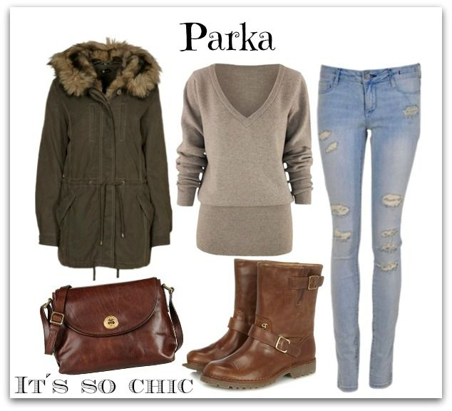 look botas marrones - Buscar con Google