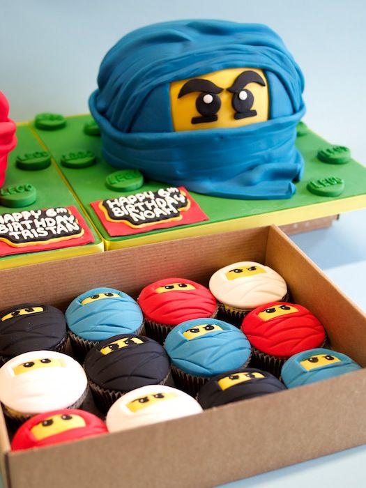 Lego Ninjagos Ninja cakes & Cupcakes | Crumbs & Doilies