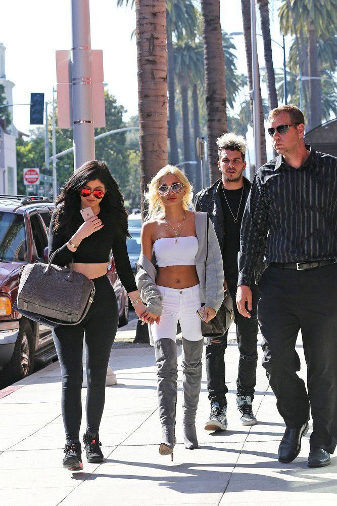 May 28, 2015 - Kylie Jenner & Pia Mia shopping in Beverly Hills.