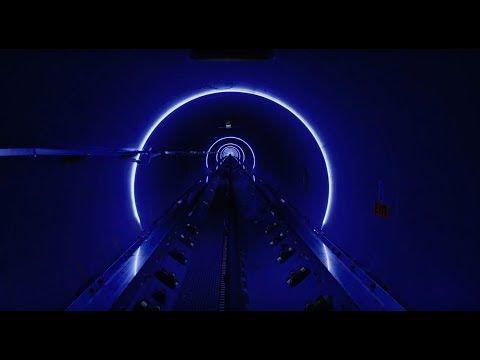 Pregopontocom Tudo: Teste do trem de alta tecnologia Hyperloop