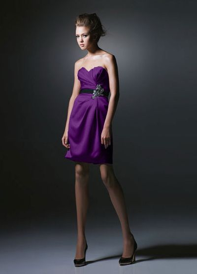 I also really enjoy this color for bridesmaids! Purple or yellow?