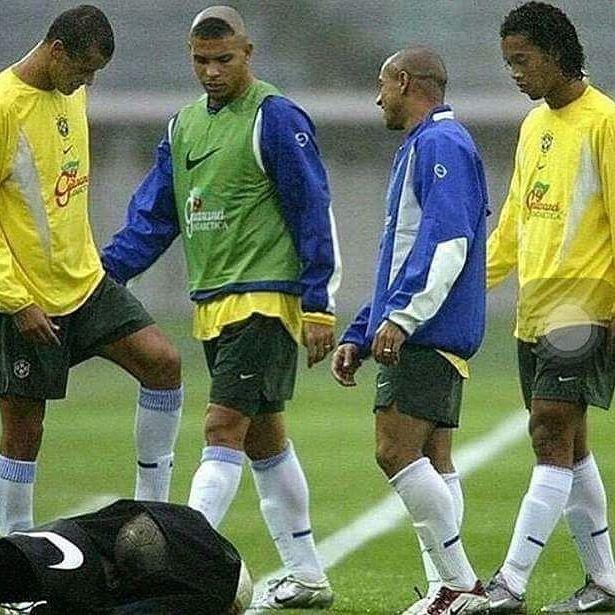 #Ronaldo_Lima #Ronaldinho #Carlos  #Rivaldo #Brazil #Legends #worldcup2002  #Ronaldo_9lima
