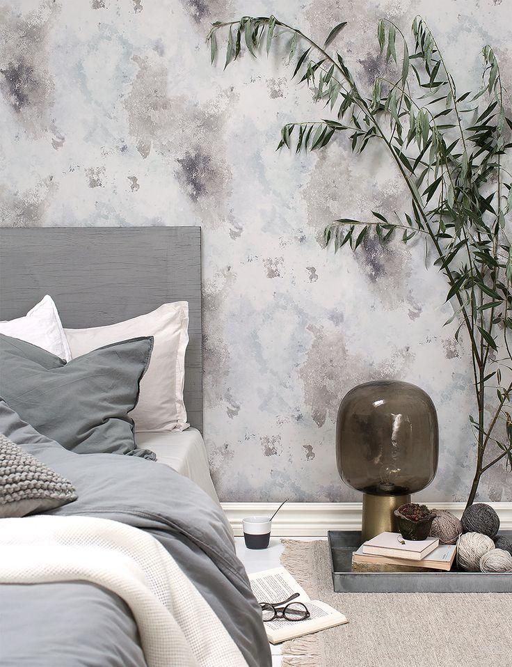 Skapa ett lugnt sovrum, ton i ton