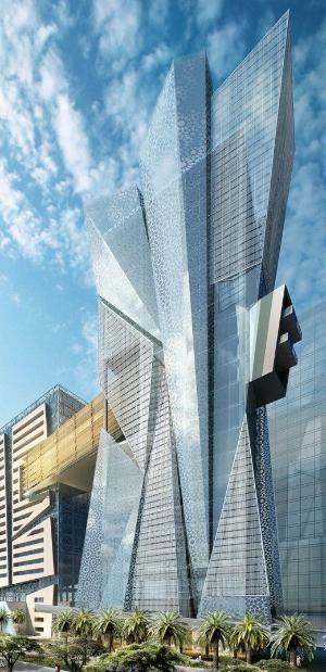 Solis Hotel, Doha, Qatar designed by Hill Glazier Studio (HGS) ☮k☮ #architecture by twila